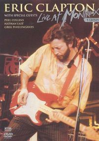 Cover Eric Clapton - Live At Montreux 1986 [DVD]